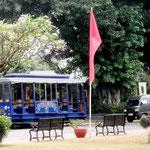 Plaza Moriones and the Tranvia