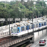 Metrostar Railway Transit, EDSA-Santolan, Quezon City