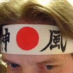 Hachimaki japonais personnalisé