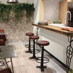 Boden- und Wandfliesen in Holzoptik
