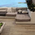 Terrassenboden in Holzoptik