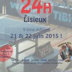 Affiche des 24H de Lisieux 2015