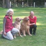 Yaspar und Alba mit Besitzerinnen
