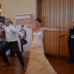 Foto vom Auftritt auf der hera Hochzeitsmesse Köln