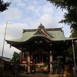 静かな境内…諏訪神社はまさに高田馬場のパワースポットですね