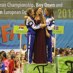 fitkid italia trio 3° cat. podio campionati europei fitkid 2012
