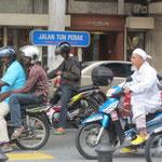Auf den Strassen Kuala Lumpurs