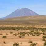 Der Vulkan El Misti (5'822m)