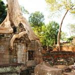 Preah Khan, ein buddhistischer Tempel welcher wahrscheinlich eine Universität beherbergte.