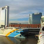 Nach einem Monat verlassen wir Buenos Aires mit der Fähre Richtung Uruguay