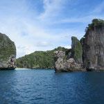 Wunderschöne Umgebung um Ko Phi Phi