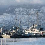Am Hafen von Usuhaia