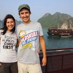 In der Halong-Bucht