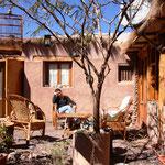 Unsere schöne Unterkunft in San Pedro