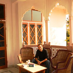 Unsere Unterkunft in Jaipur