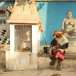 Varanasi zieht jedes Jahr Millionen von Pilger an.