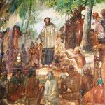 So wird das wohl ausgesehen haben. Christliche Missionare in Indien