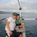 Mit dem Fischerboot unterwegs