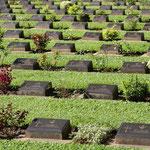 Kanchanaburi - Friedhof der Kriegsgefangenen