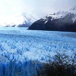 ... und nochmal ein Foto von dem Eisklotz