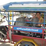 Mit dem TukTuk zur Thailändisch-Laotischen Grenze