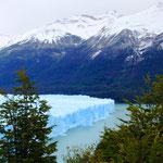 Ein wunderschöner Anblick auf den wohl spektakulärsten Gletscher der Welt.