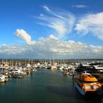 Port bei Hervey Bay, Queensland