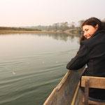 Kanufahrt auf dem Rapti-Fluss