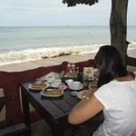 Frühstück mit Meerblick