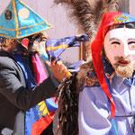 Feier im Dorf