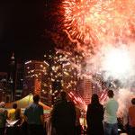Feuerwerk beim Darling Harbour