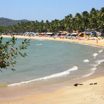 Wunderschöner Strand in Goa