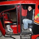 Weg zum Bahnhof. Endlich wieder einmal Tuktuk fahren!!!!