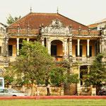 Alte Gebäude aus der französischen Kolonialzeit.