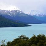 """Auf dem Weg zum Perito-Morneo-Gletscher - Das Wetter ist heute sehr """"patagonisch"""""""