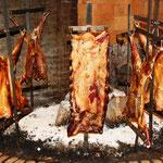 Eines der vielen Parrilo (Grillfleisch) Restaurants in Buenos Aires