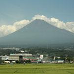 Mount Fuji aus dem Shinkansen