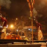 Alltägliches Spektakel am Ganges