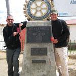Grenzübergang Jan und André