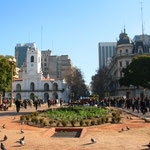 Plaza de Mayo im microcentro von Buenos Aires