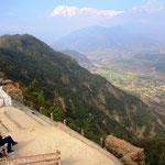 Sarangkot, mit herrlicher Aussicht aufs Gebirge