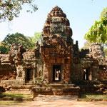 Ta Som. 1992 erklärte die UNESCO den archäologischen Park von Angkor, und damit auch den sich innerhalb dieses Parks befindlichen Ta-Som-Tempel, zum UNESCO-Weltkulturerbe