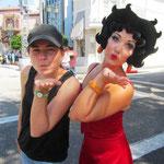 Franziska und Betty Boop