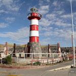 Am Hafen bei Puno beim Titicaca-See