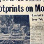 Weltweit verfolgten rund 500 Millionen Menschen die erfolgreiche Durchführung des Flugs im Fernsehen. Apollo 11erfüllte die Ankündigung des Präsidenten, einen Menschen zum Mond und wieder sicher zurück zur Erde zu bringen.
