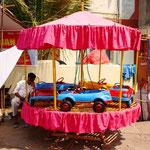 Karusell auf Indisch