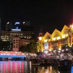 Am Abend in Singapur