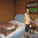 Unsere einfache Unterkunft in Ubud