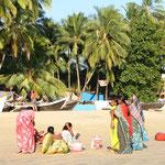 Strandverkäuferinnen