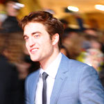 Bild leider nicht so scharf geworden! Das ist Robert Pattinson (Franziska meint, der sei sehr berühmt)!!!! :)